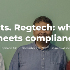 Ep. 276. Insights. Regtech: where innovation meets compliance
