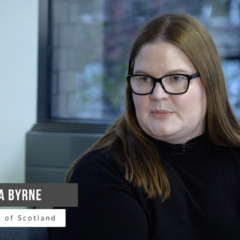 Angela Byrne, Royal Bank of Scotland on the previous state of customer onboarding