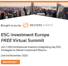 ESG Investment Europe Virtual Summit – by Reuters Events Markets