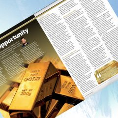 "Exclusive: 'A Golden Opportunity' – Shahid Munir, Minted in ""The Fintech Magazine"""
