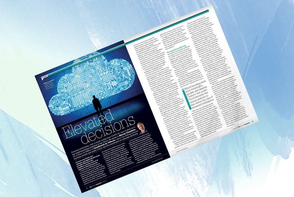 "Exclusive: 'Elevated Decisions' – Marcus Chambers, VMWare in ""The Fintech Magazine"" 