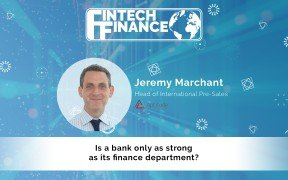 Jeremy Marchant, Aptitude Software - Is a bank only as strong as its finance department? | Fintech Finance