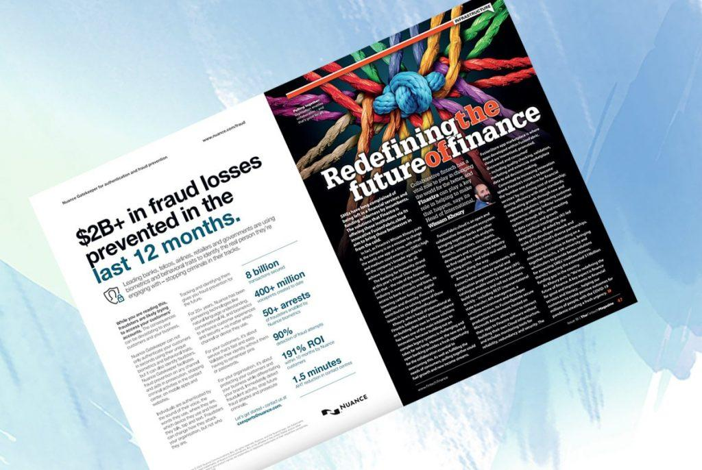 """Exclusive: 'Redefining the future of finance' - Wissam Khoury, Finastra in """"The Fintech Magazine"""" 