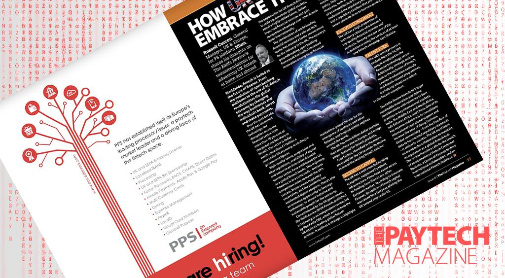 """Exclusive: 'How UK Fintech can embrace the world' – Russell Curzon, Nium in """"The Paytech Magazine"""" 