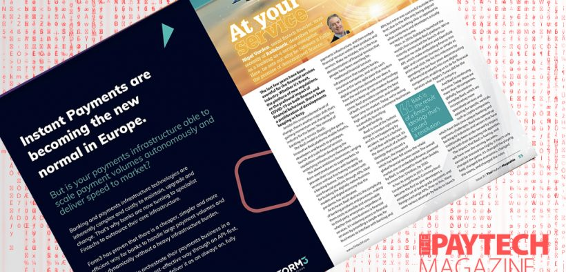 """Exclusive: 'At your service' – Nigel Verdon, Railsbank in """"The Paytech Magazine"""" 